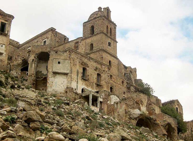 Craco, an evocative ghost town in Basilicata