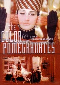 The Color of Pomegranates. (Soviet Union, 1968). Directed by Sergei Parajanov. A biography of the Armenian troubador Sayat-Nova  (King of Song) that attempts to reveal the poet's life visually and poetically rather than literally.