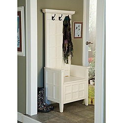 coat storage for small entry area. I want one on each side of my door