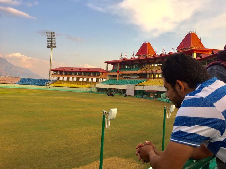 Himachal Pradesh Cricket Association Stadiium, Dharamshala, Himachal Pradesh, College Industrial Visit