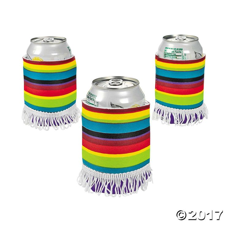 Poncho Can Coolers