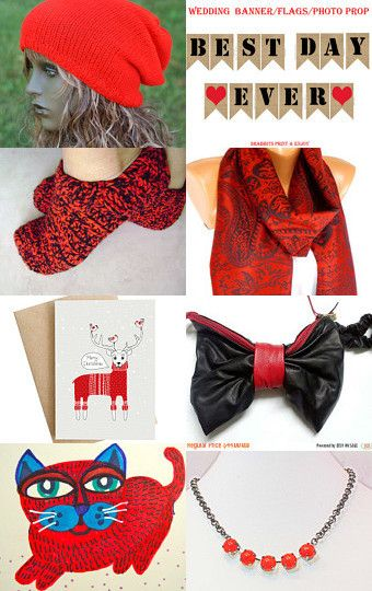 Red and black guide(Ace Team Treasury) by Arlette Martin on Etsy--Pinned with TreasuryPin.com