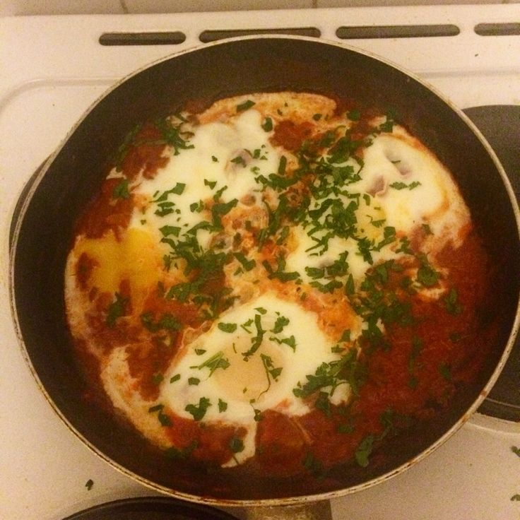 Spanish eggs - breakfast/ brunch idea