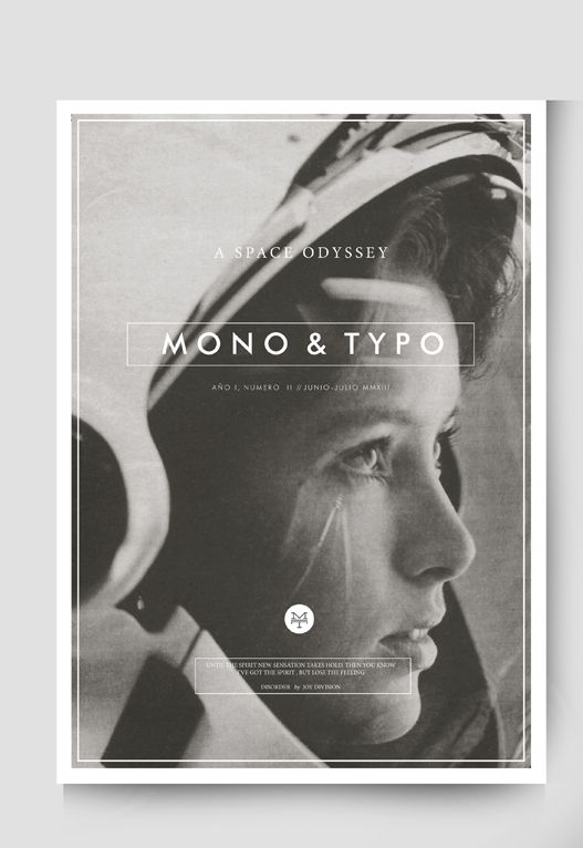 MONO No. 2 , a graphic arts and design magazine