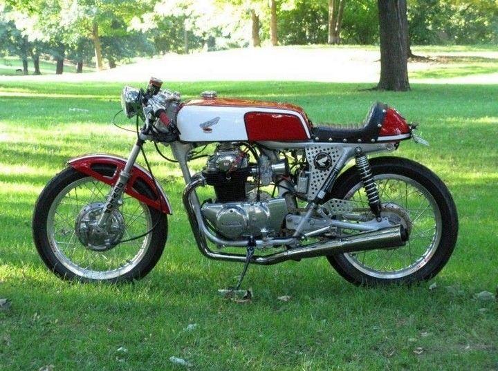 Vintage Honda Cafe Racer Beautiful Motorcycles Honda