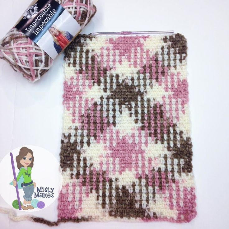 Planned Color Pooling with crochet made easy - 4 simple steps