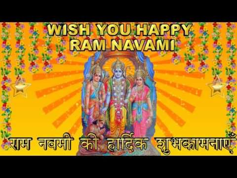 Happy Ram Navami Wishes, Ram Navami Greetings, Ram Navami 2016, Ram Navami Whatsapp - YouTube