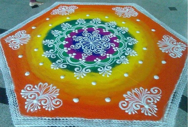 Colorful Rangoli Designs for Diwali