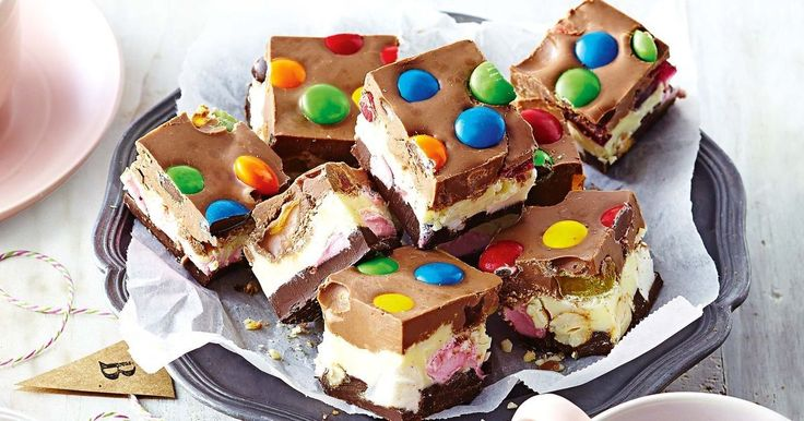 Spoil the big kid you love with colourful rocky road.
