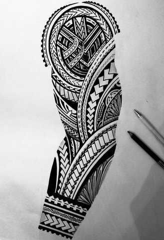 Sketches for tattoo sleeves – Sketches of tattoo sleeves …   – Tatuagem – #Ske…