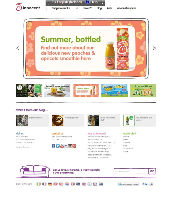 Innocent Web Banner