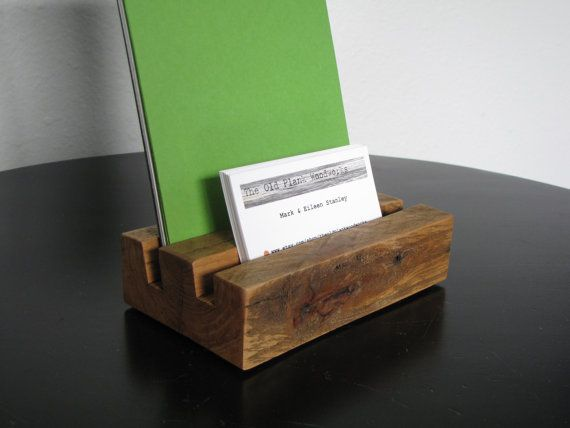 Reclaimed Rustic Business Card Amp Brochure By