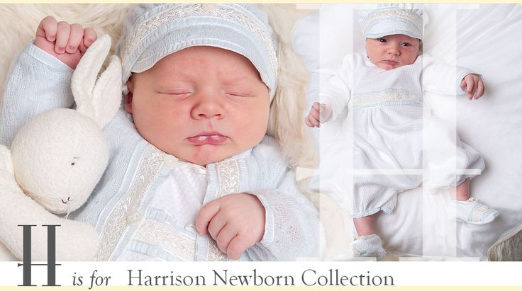 The Harrison Newborn Collection - Designer Baby Boy Clothing by Baby Beau & Belle