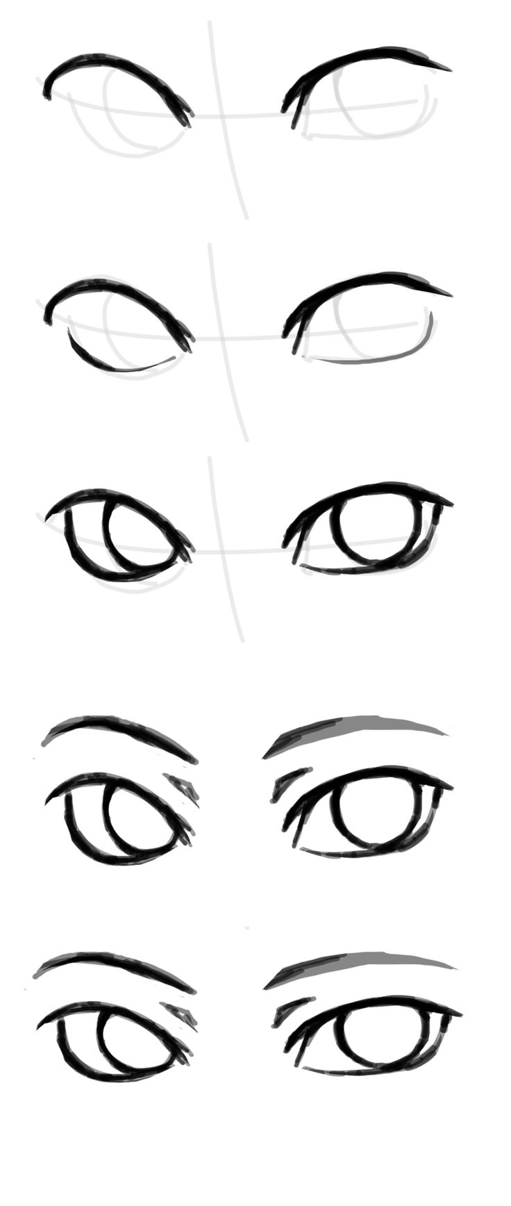 Sirblizzard: How To Draw 'the Other Eye' Because People Keepplaining