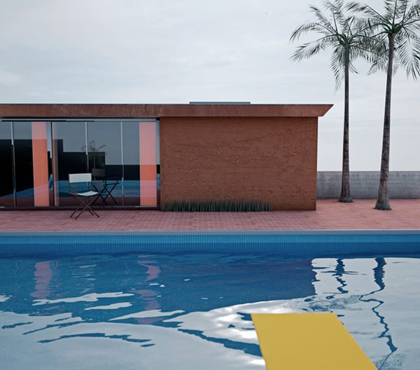david hockney - a bigger splash 1967, photography by richard kolker 2011