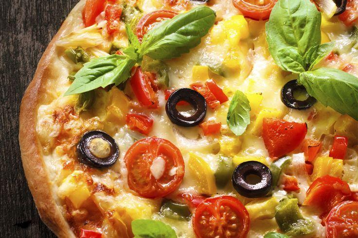 Pizza à blé entier