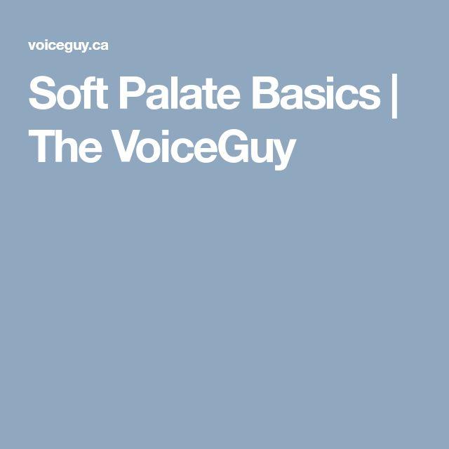 Soft Palate Basics | The VoiceGuy
