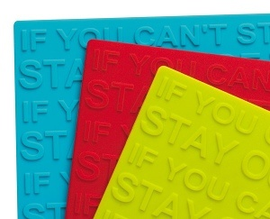 Zeal Silicone Heat Resistant Mat (Assorted Colours)
