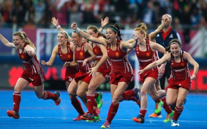 TEAM GB WOMEN'S HOCKEY TEAM RIO 2016