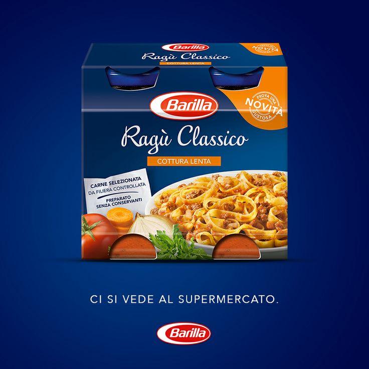 È arrivato il nuovo Ragù Classico, ci si vede al supermercato! #èBarillaesivede