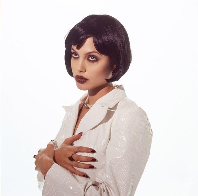 Angelina Jolie by Marcel Indik (1995)