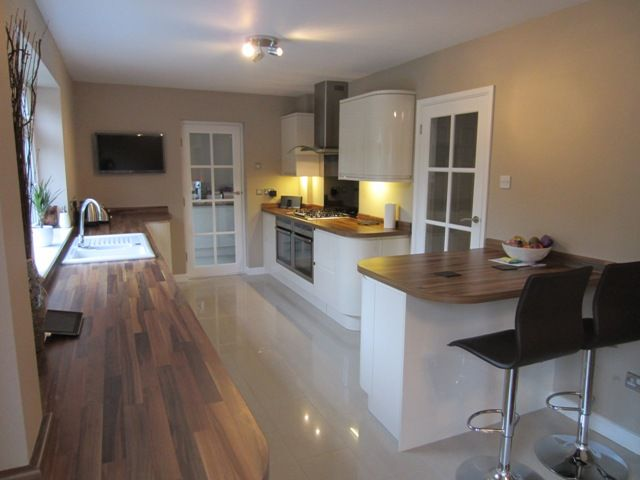 pictures of kitchens with wooden worktops - Google Search