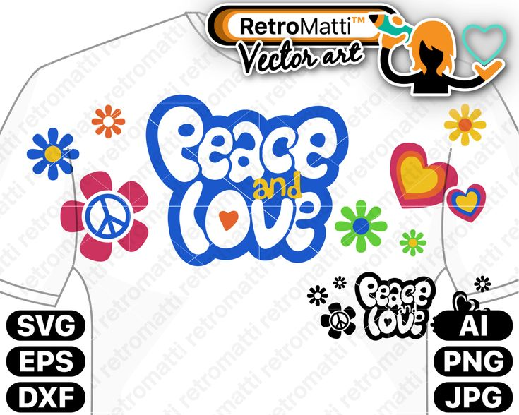 Download Peace and Love SVG | Peace, love, Peace, Clip art
