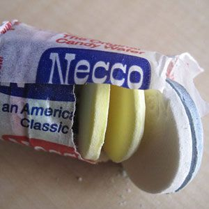 Necco: Call them the modest predecessor to SweeTarts. These chalky wafers may not be the world's most addictive candies, but they sure do have a history: The first version of them has been traced back to 1847.