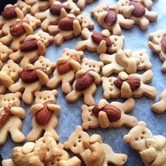 """Песочное печенье """"Медвежата"""""""