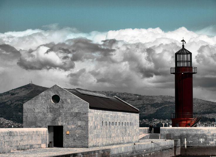 Museo do Mar de Galicia, Vigo Spain | Aldo Rossi, César Portela | Image : Cancela de Sas via Flickr