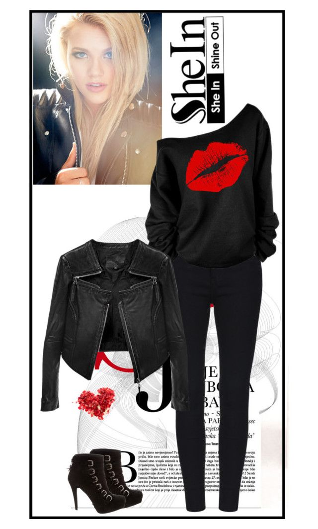 """""""Дерзкая"""" by websandgold ❤ liked on Polyvore featuring Stuart Weitzman and Linea Pelle"""