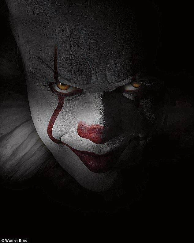 Killer clown: The new version of villain Pennywise seems to be as horrifying as ever