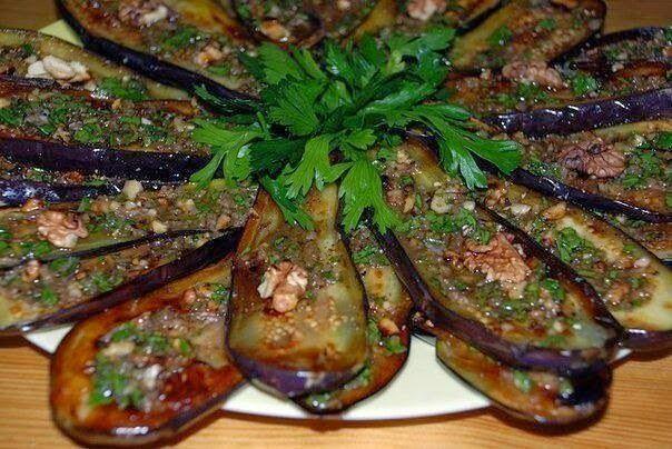 Лучшие кулинарные рецепты: Баклажаны по-сербски