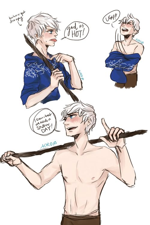 acrobalance:merelymelly asked for: jack frost + absI HOPE YOUR FINALS ...