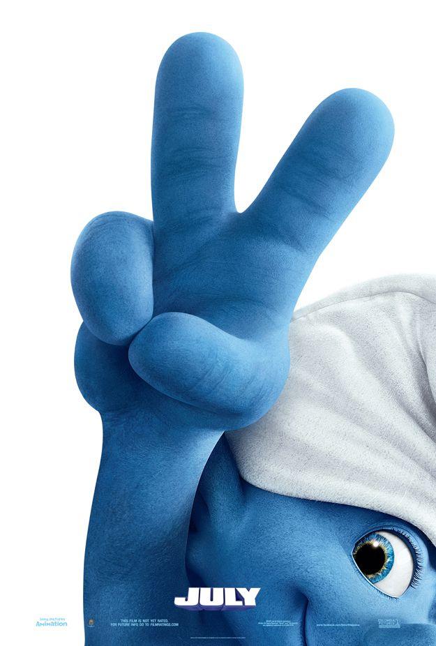 The Smurfs 2 First Teaser Poster, Ben Afflecks Argo New Posters