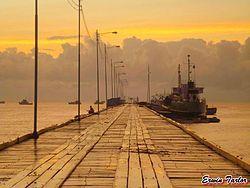 Pier in Bilwi, Puerto Cabezas