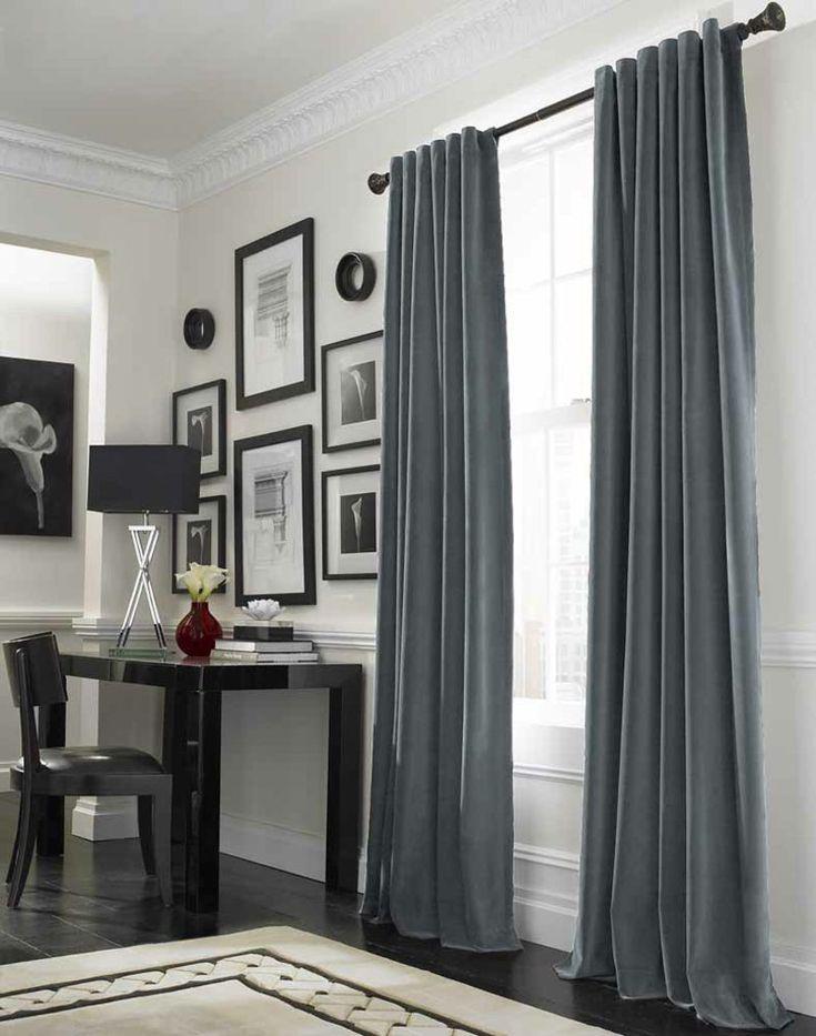 die besten 17 ideen zu wohnzimmer vorhänge auf pinterest, Wohnzimmer dekoo