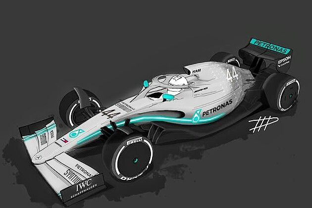 F1 2021 - Mercedes W11? The next generation of F1 cars is ...