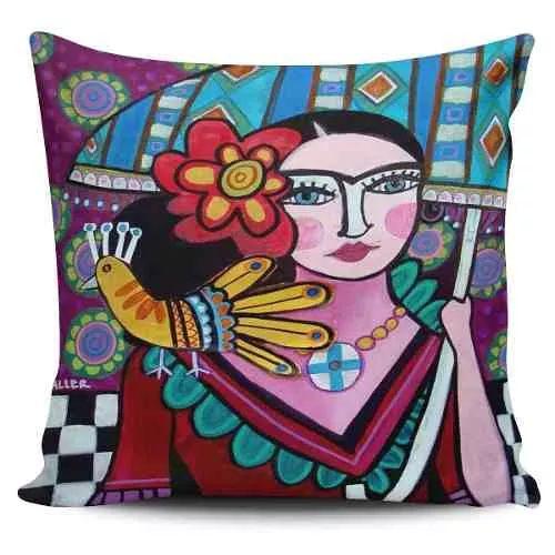 Cojin Decorativo Tayrona Store Frida 05 - $ 43.900