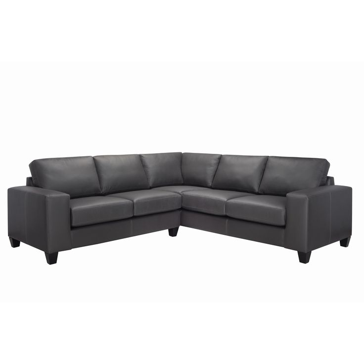 Paulina Italian Leather Sectional Sofa