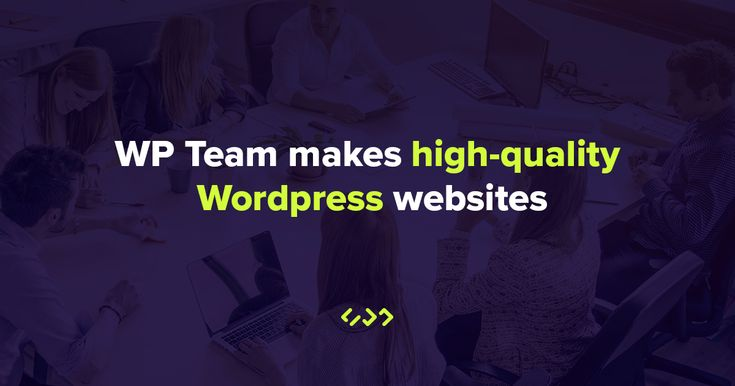 WP Team is a professional WordPress developers agency. We make high-quality WordPress websites for agencies, companies and organizations.