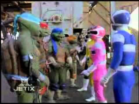 Power Rangers In Space - Shell Shocked - Meet the Turtles