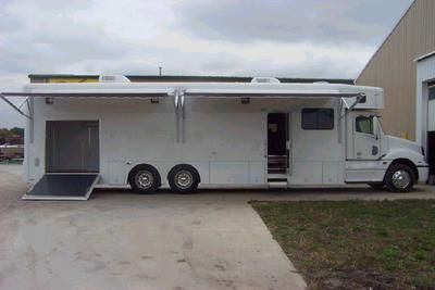 toy hauler conversions | Showhauler Motorhomes For Sale Missouri The I Feel Alive Lifestyle ...