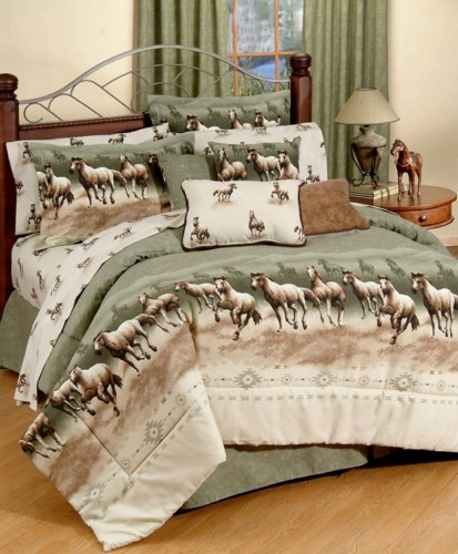 karin maki horse stampede bedding by kimlor decor pinterest ux