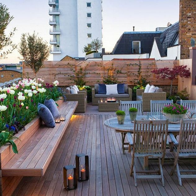 Lovely and Airy with a Rooftop Garden …