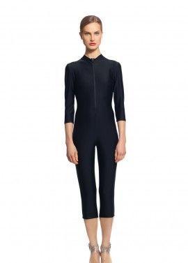 Three Quarter Length Full Body Suit