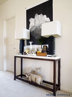 Best 25 Narrow hallway table ideas on Pinterest Narrow entryway