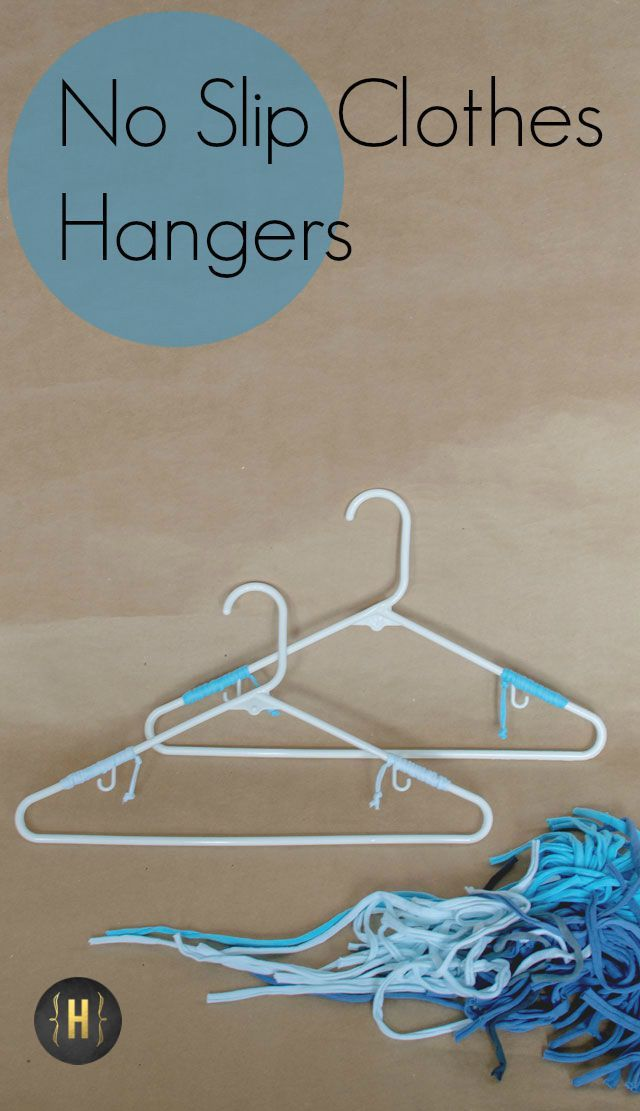 Decorative No Slip Clothes Hangers - Homeology Modern Vintage