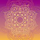 Gradient mandala 6 by creativelolo