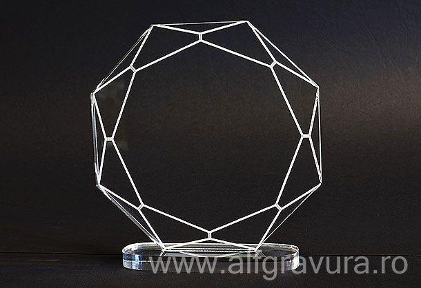 Trofeu acril TG-1